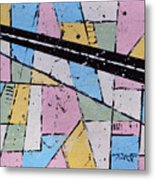 Off The Map Metal Print