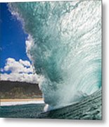 Off The Wall Metal Print by Doug Falter