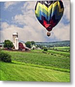 Off To The Land Of Oz Metal Print