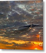 Off To War Metal Print