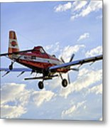 Off To Work Metal Print