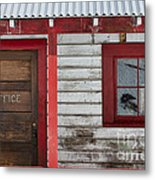 Office Door Metal Print