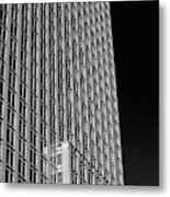 Office Tower  Montreal, Quebec, Canada Metal Print