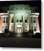 Oglebay Hall At Night Metal Print