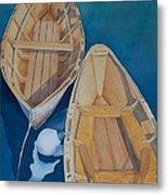 Oguniquit Boats Metal Print