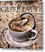 Oh My Latte Metal Print