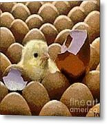 Oh No   It's Easter Metal Print