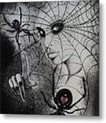 Oh What Tangled Webs We Weave Metal Print