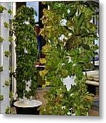 O'hare Airport Hydroponic Garden Metal Print