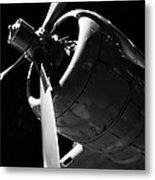 Ohio - Aircraft Propeller Metal Print