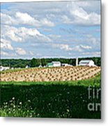 Ohio Amish Farm Metal Print