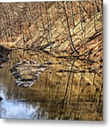 Ohio And Erie Canal Metal Print