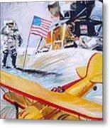 Ohio Aviation Metal Print