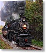 Ohio Central #1293 Steam Metal Print