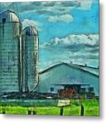Ohio Farm Metal Print