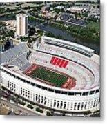 Ohio Stadium Metal Print