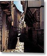 Ohrid Streets Metal Print