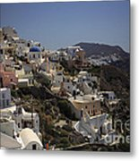 Oia By Day Metal Print