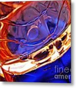Oil And Water 15 Metal Print by Sarah Loft