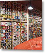 Oil Can Collection Metal Print
