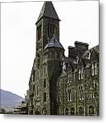 Oil Painting - Repair Of The Benedictine Abbey At Fort Augustus Now Apartments Metal Print
