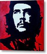 Original Oil Painting Art -ernesto Guevara#16-2-5-30 Metal Print