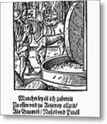Oil Press, 1568 Metal Print