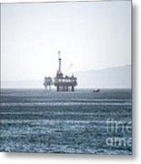 Oil Tower Metal Print