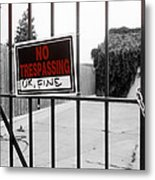 Ok Fine Metal Print by Louis Maistros
