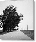 Oklahoma Route 66 2012 Bw Metal Print