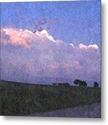 Oklahoma Storm Clouds 1 Metal Print