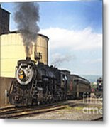 Old 3254 Heading Down The Line Metal Print