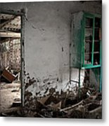 Old Abandoned Kitchen Metal Print by RicardMN Photography