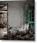 Old Abandoned Kitchen Metal Print