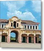 Old Abandoned Market Metal Print