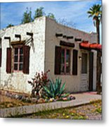 Old Adobe Cottage Metal Print by Brian Lambert