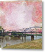 Old Amelia Earhart Bridge Metal Print