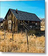 Old And Forgotten Metal Print by Robert Bales