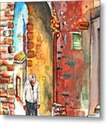 Old And Lonely In Italy 04 Metal Print