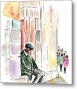 Old And Lonely In Salamanca Metal Print