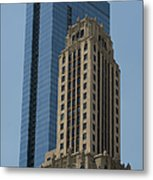 Old And New Architecture Metal Print