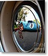 Old And New Ford Hotrods Metal Print