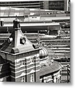 Old And New Tokyo Station Metal Print