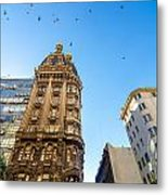 Old Apartment Building Metal Print