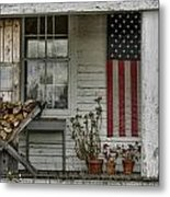 Old Apple Orchard Porch Metal Print