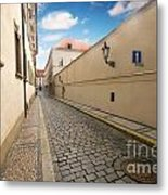 Old Architecture In Prague Metal Print