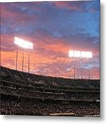 Old Ball Game Metal Print by Photographic Arts And Design Studio