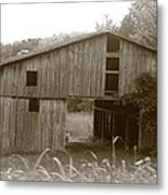 Old Barn 3 Metal Print