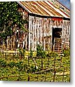 Old Barn #3 Metal Print