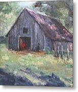 Old Barn In Arkansas Metal Print